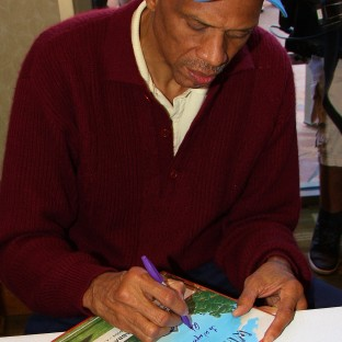 Kareem Abdul-Jabbar Visits County of Los Angeles Public Library
