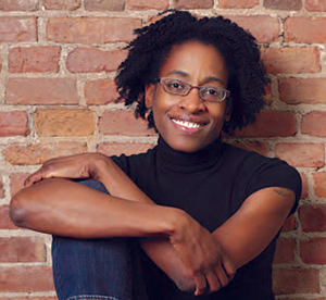 Jacqueline Woodson, National Book Award Winner for Brown Girl Dreaming. Photo: Marty Umans.