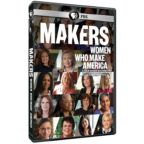 "Cover of Makers/PBS film ""Makers: Women Who Make America."""