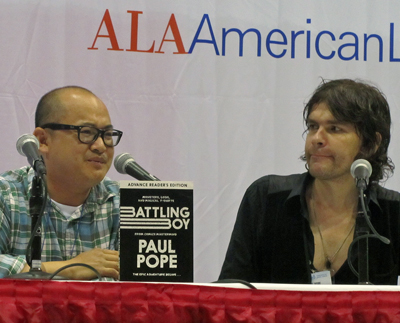 Thien Pham (left) and Paul Pope