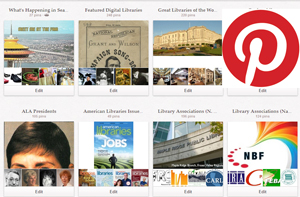 American Libraries' Pinterest page