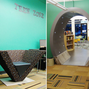 Library Design Showcase 2012: The Shape of Things
