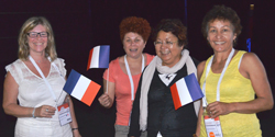 French delegates look forward IFLA 2014 in Lyon. Photo by Carlon Walker