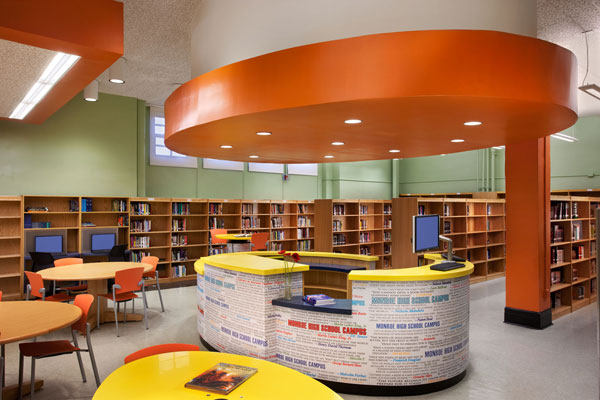 Monroe High School Campus Library, New York City