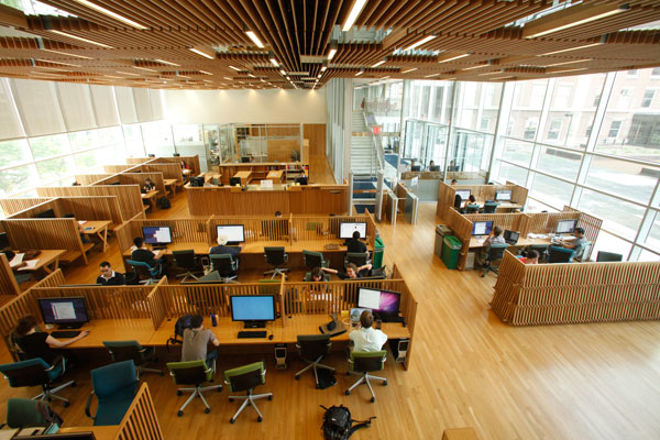 Toronto Public Library Group Study Rooms