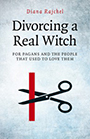 Cover of Divorcing a Real Witch, on the shortlist for the Diagram Prize