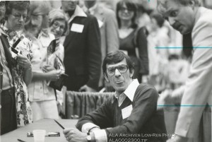 Leonard Nimoy at the 1976 ALA Annual Conference