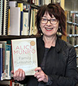 Maureen is reading Alice Munro
