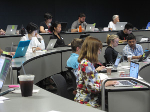 In the past year, Stanford University Libraries has offered four coding workshops to its graduate students. Dozens of students and faculty attend each of these weekend-long training sessions to learn the basics of coding.
