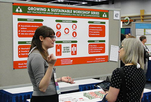 Poster session on Growing a Sustainable Workshop Series