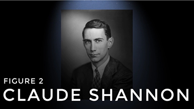 Screenshot from Claude Shannon video
