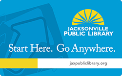 Jacksonville (Fla.) Public Library card