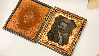 Daguerreotype of Abraham Lincoln