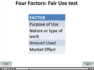 MIT Libraries' mobile Fair Use Quiz