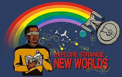 Explore strange new worlds