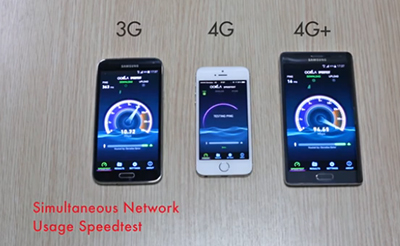 In South Korea and the United States, it's called LTE-A (or LTE Advanced), but in Singapore, France, Qatar, and the Netherlands, it's called 4G+.