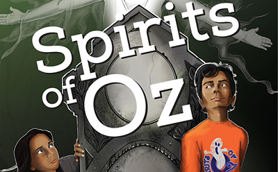 Spirits of Oz, one of the 2014 Community Novel project books at Topeka and Shawnee County (Kans.) Public Library