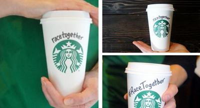 Starbucks' Race Together campaign