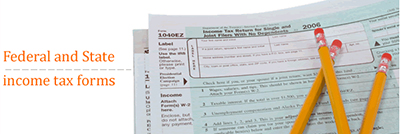 Library tax forms