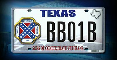 Texas plates case