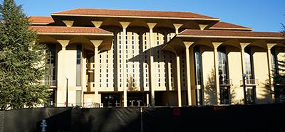 Stanford's UGLI Meyer Library before demolition