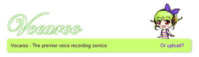 Vocaroo voice recording service