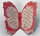 Walt Whitman's cardboard butterfly
