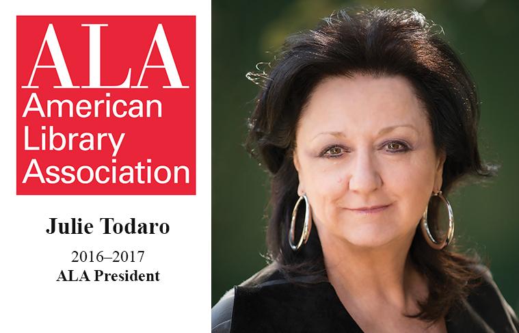 ALA 2016-2017 President Julie Todaro