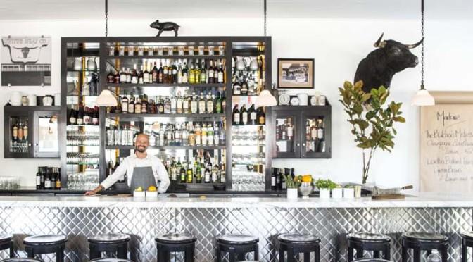 The bar at Marlowe. Photo: Eric Wolfinger