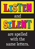 Listen and Silent are spelled with the same letters