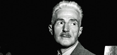Dashiell Hammett, one of the fathers of detective fiction, in New York in 1947