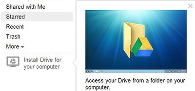Use Google Drive like Dropbox