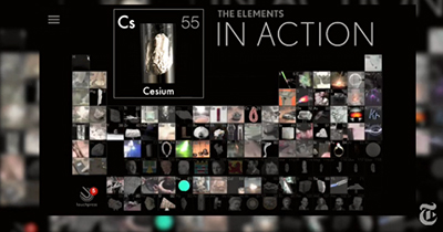 The Elements in Action app