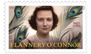 Flannery O'Connor postage stamp