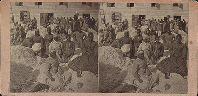 "Unknown, ""Freedom on the Plantation"" (1863-1866), Charleston, SC, Osborn & Durbec's Southern Stereoscopic & Photographic Depot, 223 King Street"