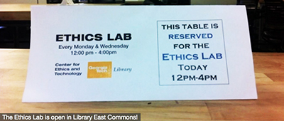 Georgia Tech ethics lab