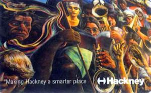 Hackney library card