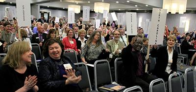 National Library Legislative Day advocates, 2014