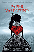 Cover of Paper Valentine, by Brenna Yovanoff