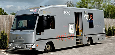 Large mobile library, Staffordshire