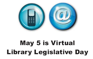 May 5 is Virtual Library Legislative Day