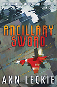 Cover of Ancillary Sword, by Ann Leckie