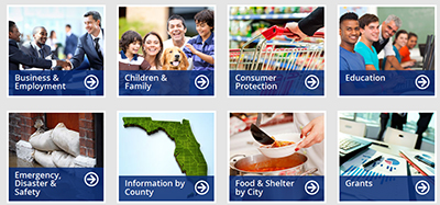 "Pasco County Library Cooperative's ""Get Help Florida"" web portal"