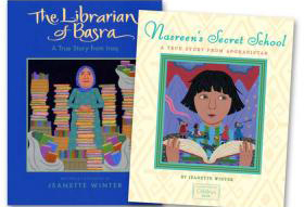 The Librarian of Basra: A True Story from Iraq and Nasreen's Secret School: A True Story from Afghanistan