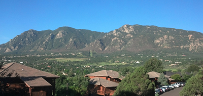 The view from Cheyenne Mountain Resort, Colorado Springs, Colo. Photo by James LaRue