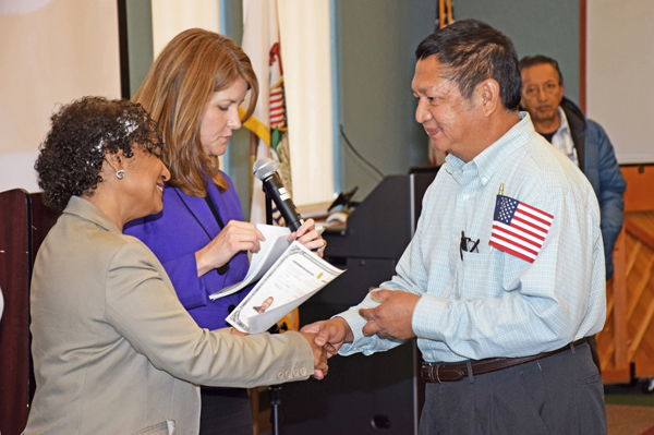 For the past five years, Schaumburg Township (Ill.) District Library has provided citizenship education for many area residents.