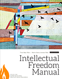 Ninth edition of the ALA Intellectual Freedom Manual