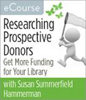 Researching Prospective Donors eCourse
