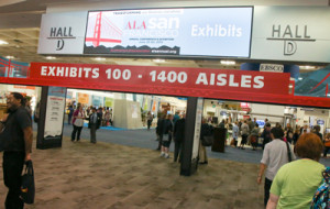 The exhibit hall entrance at the 2015 ALA Annual Conference in San Francisco (photo: Curtis Compton).