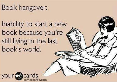 book hangover e-card